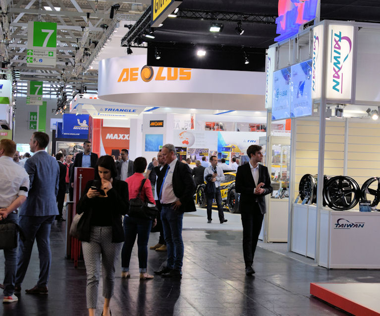 Reduced floorspace, more digital content – new format for The Tire Cologne