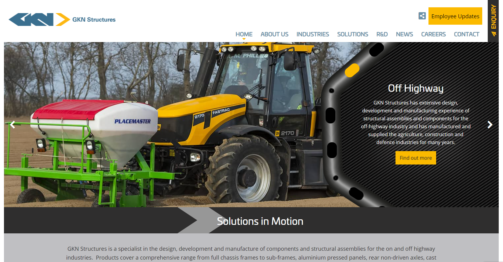 Wheel-maker GKN launches new website