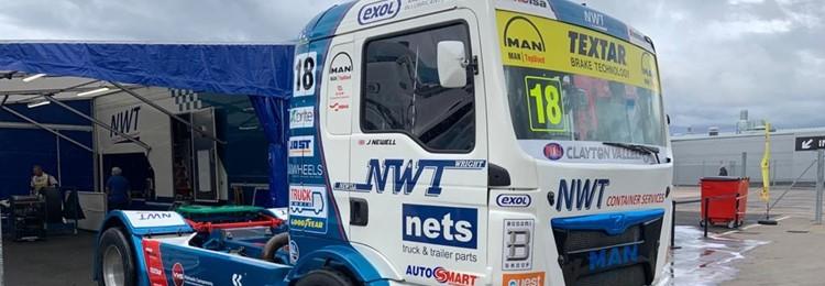 Textar brakes key as truck racer Newell enjoys winning weekend