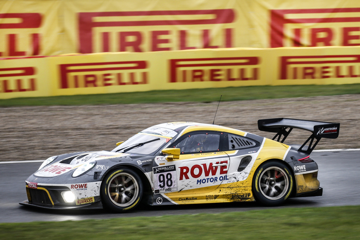 New Pirelli GT tyres support Spa 24 Hours