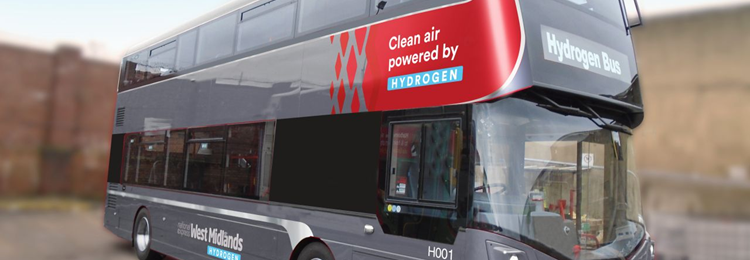 Birmingham Council orders 20 double-decker hydrogen-powered buses