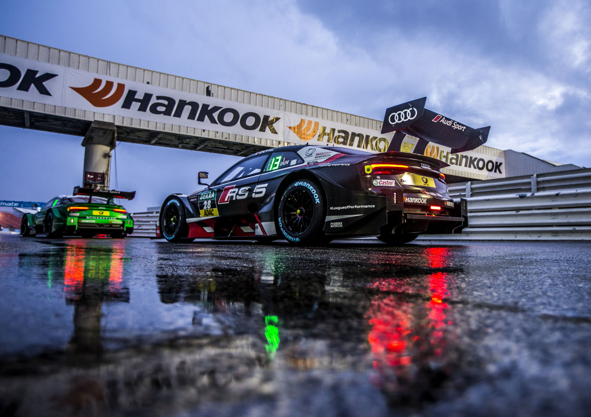 Hankook celebrates 10 years with the DTM