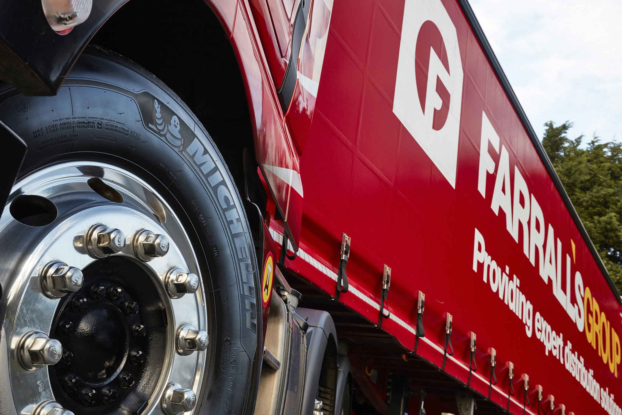 Farrall's Group fleet goes 100 per cent Michelin
