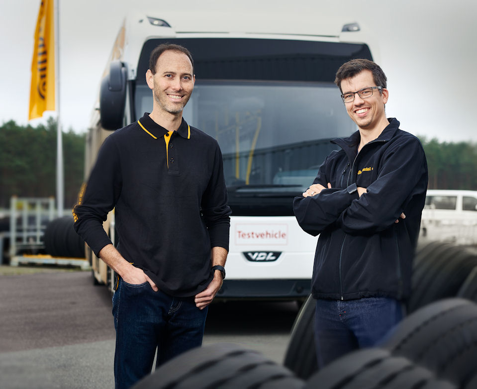 Tyres for electric buses: Continental working to shorten development time