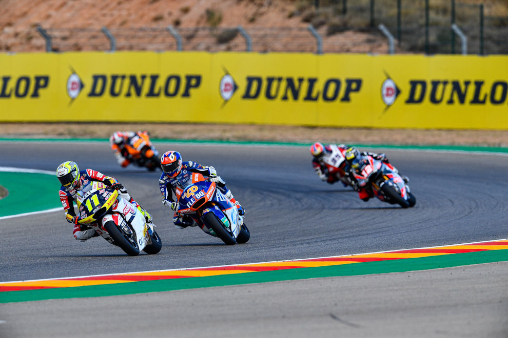 3 more years: Dunlop's Moto2 & Moto3 tyre supply extended