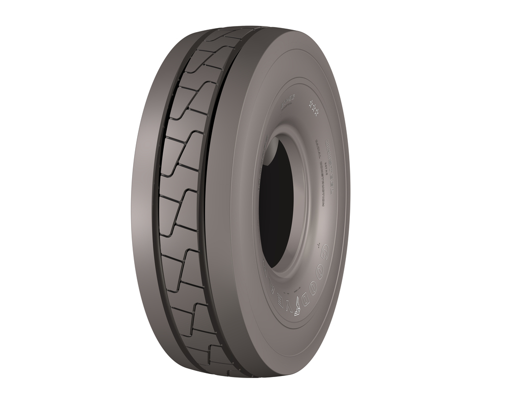 Goodyear introduces EV-3G industrial handling tyre