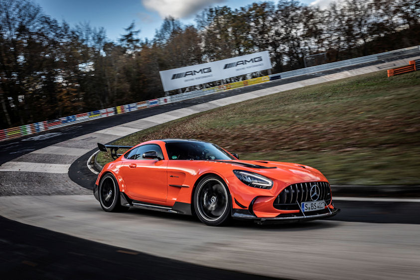 Michelin-shod Mercedes-AMG achieves Nordschleife lap record