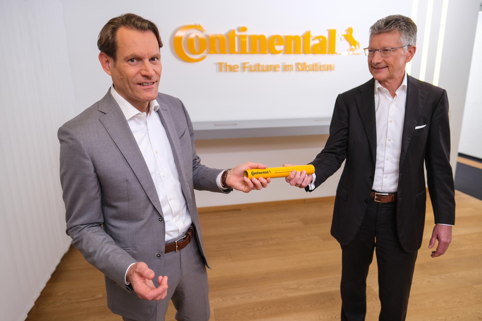 Nikolai Setzer takes over as Continental CEO
