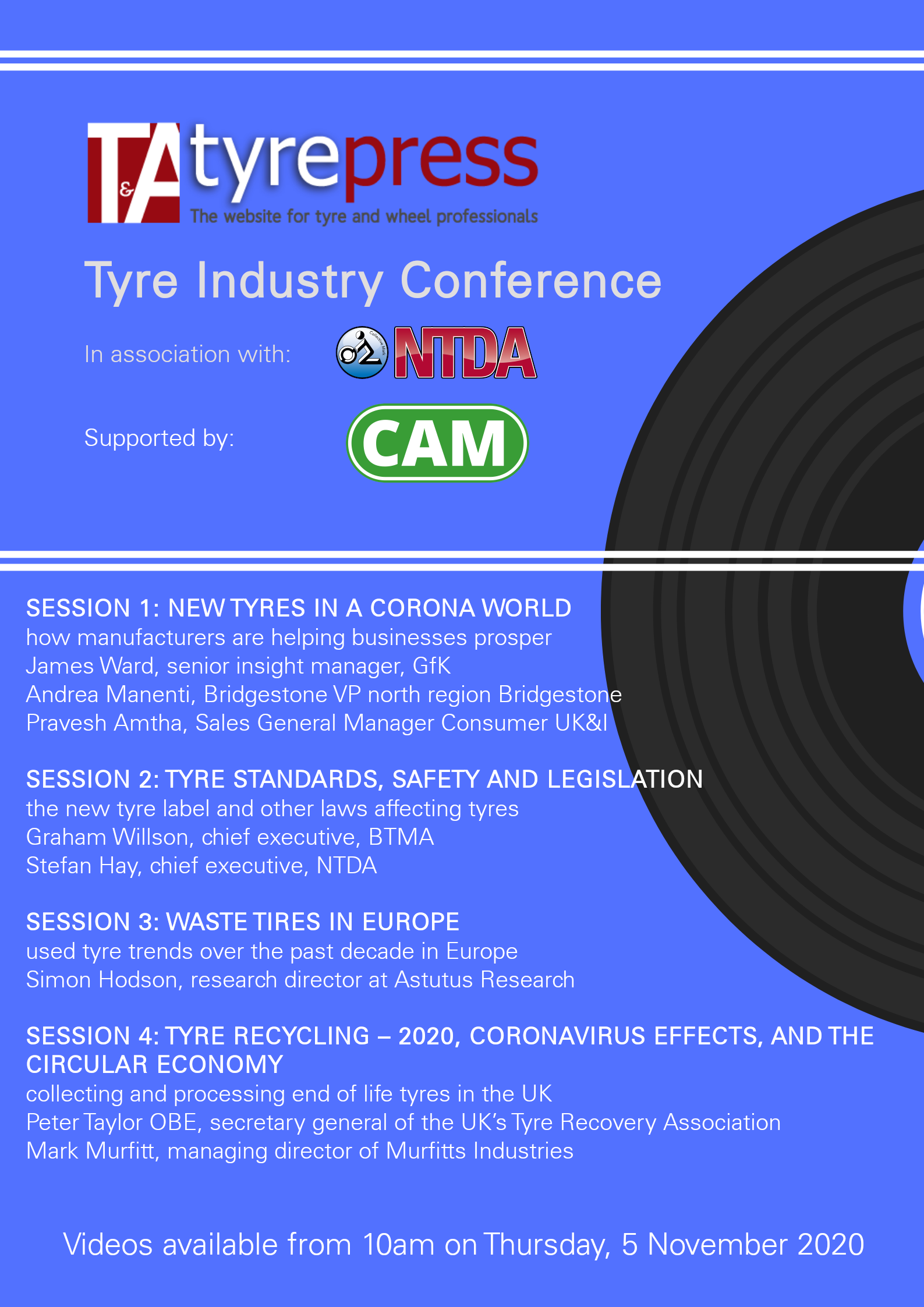 How to view the Tyre Industry Conference