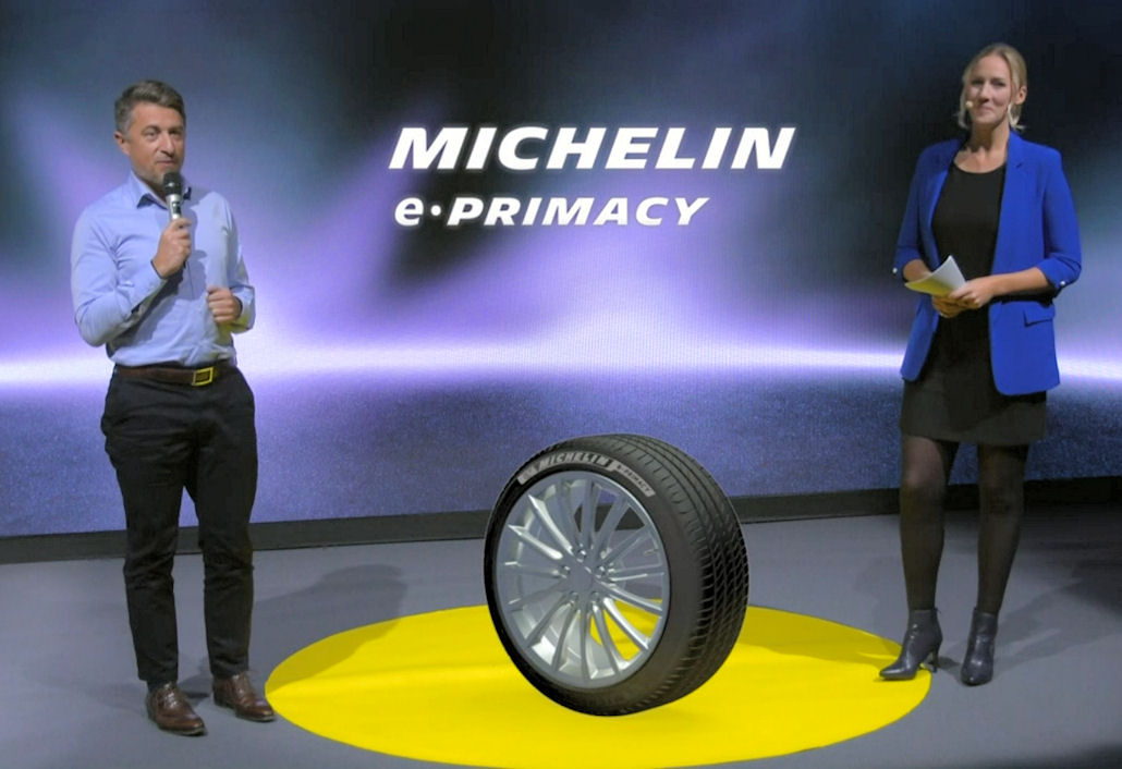 Virtual launch for Michelin's most eco tyre ever