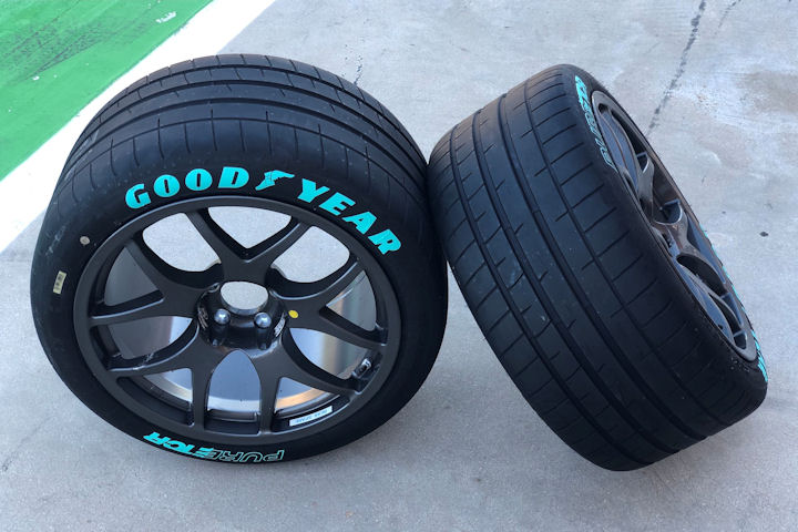 Goodyear finalises Pure ETCR tyre specification