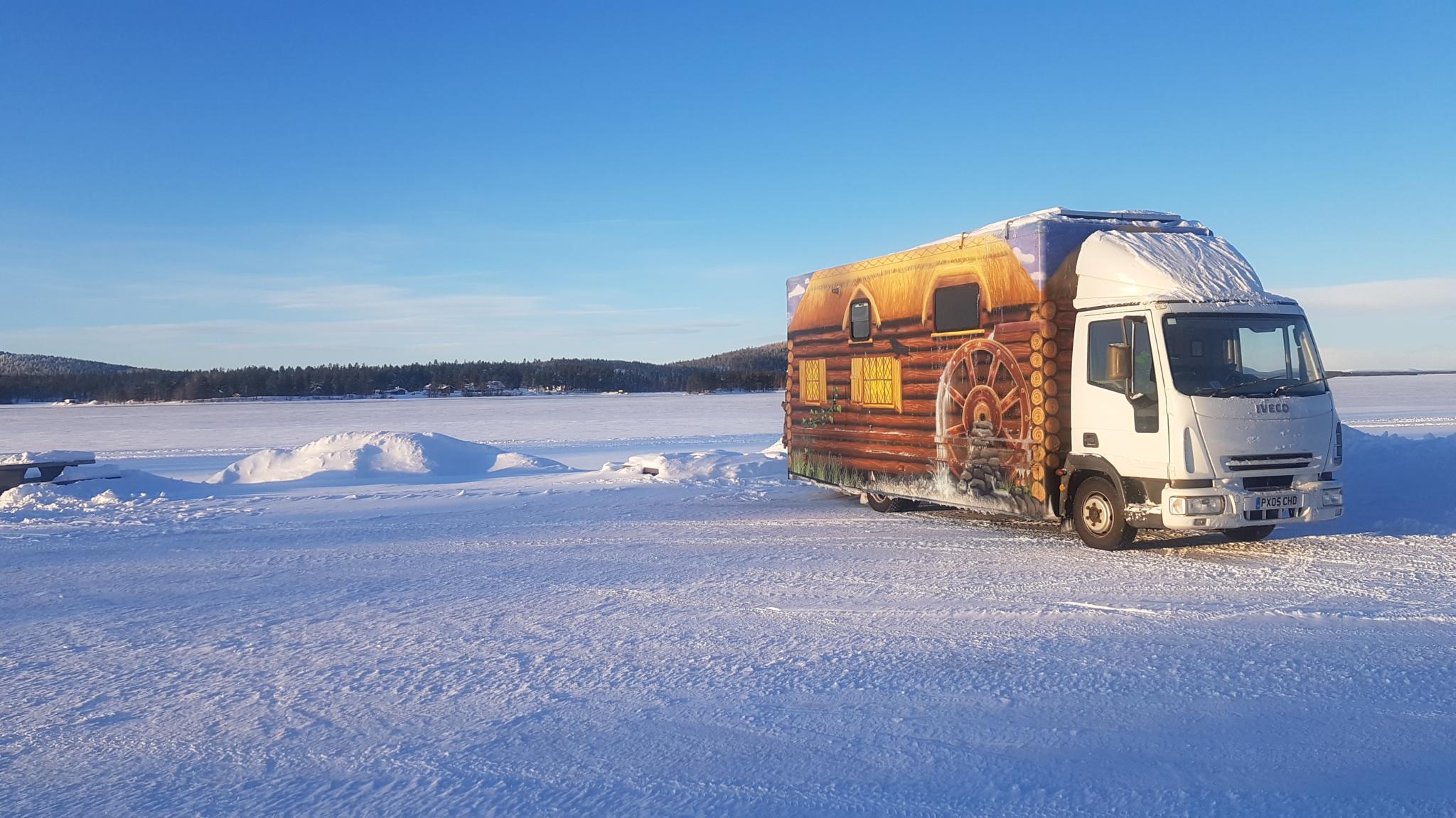 Falken truck tyres help customer make it to the Arctic Circle