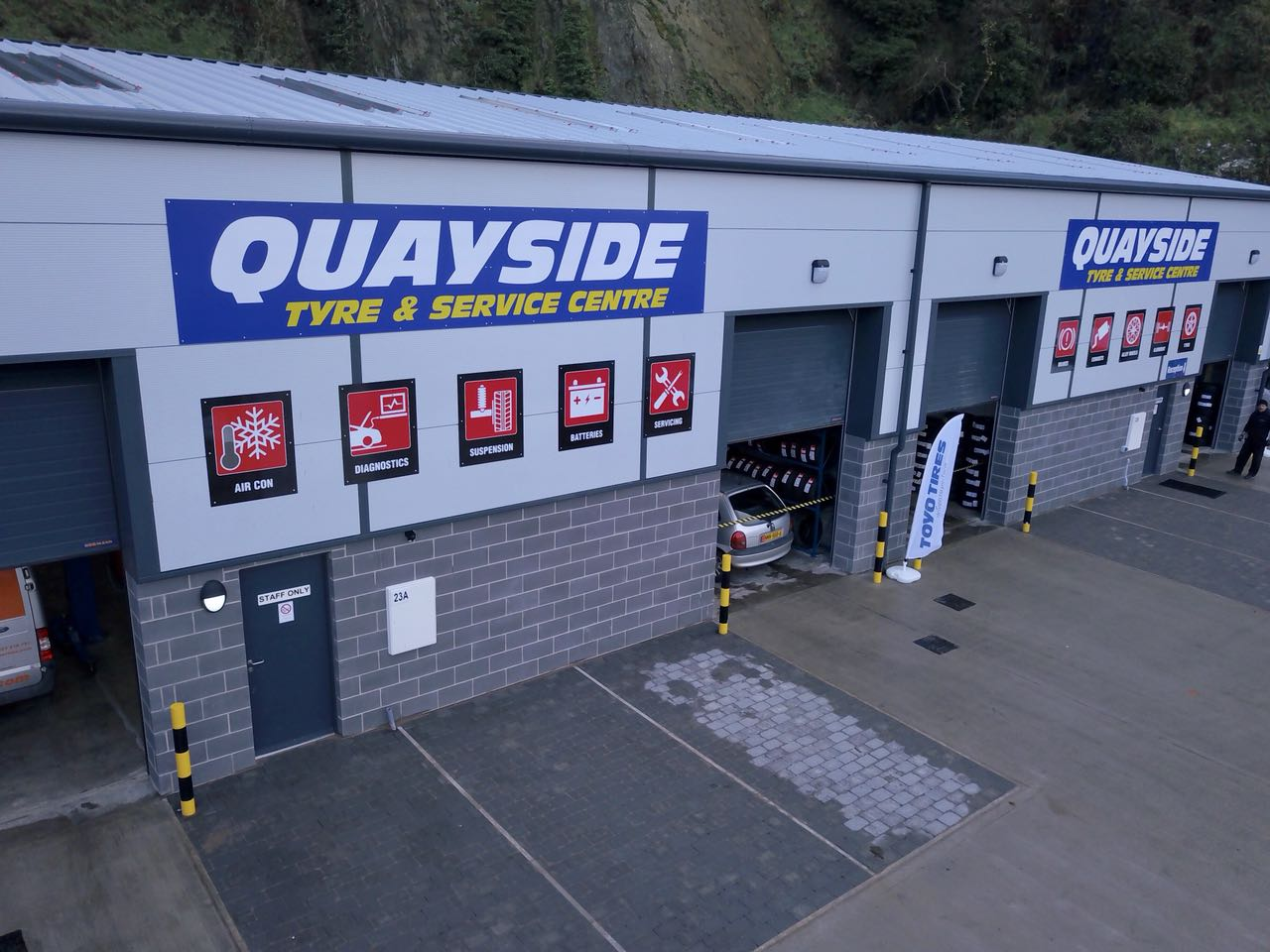 Quayside Tyres unlocks TPMS opportunities