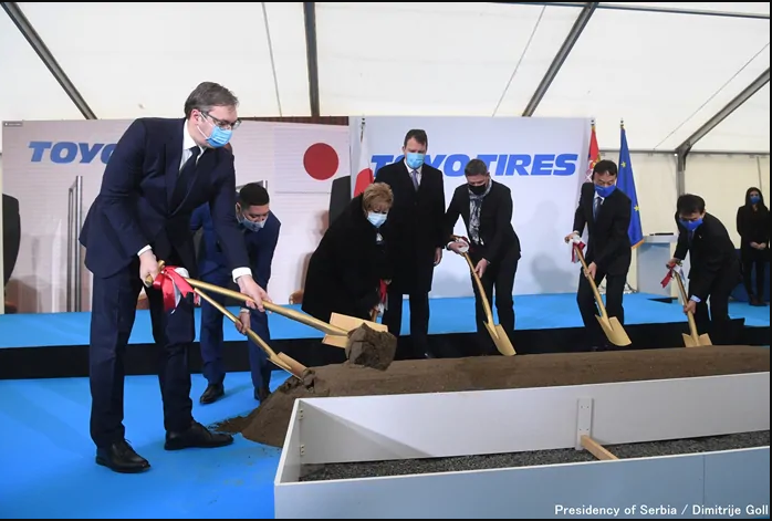 Toyo breaks ground on Serbia tyre factory