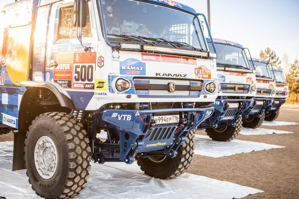 Dakar: Goodyear teaming up with Kamaz-Master again