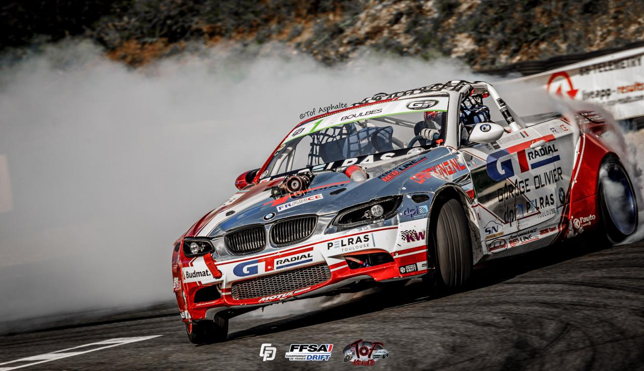 GT Radial-sponsored Boulbes wins 7th Elite French Drift Championship