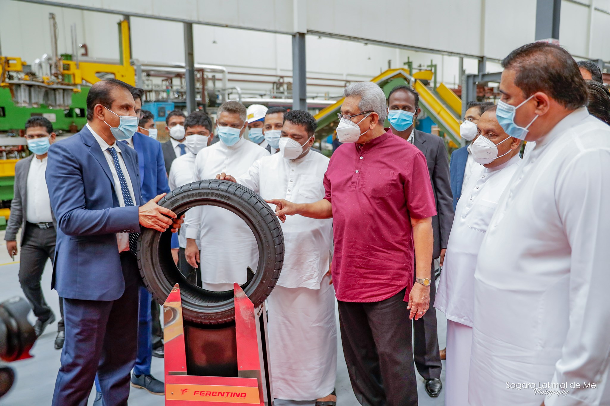 $250 million Ferentino tyre factory opens in Sri Lanka