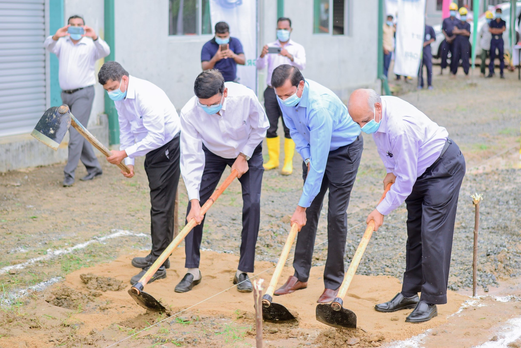 GRI breaks ground on phase 2 of $100 million speciality tyre plant