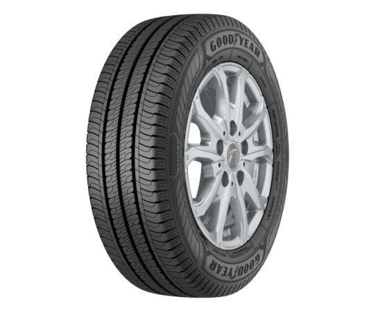 Tread durability up 38%: Goodyear EfficientGrip Cargo 2