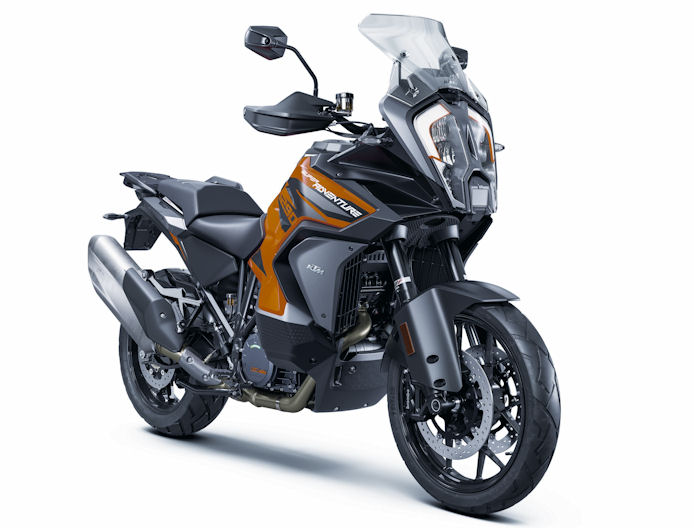 Mitas tyres OE on 2021 KTM 1290 Super Adventure S