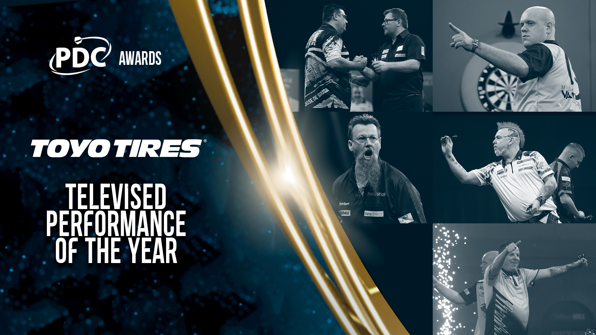 Michael van Gerwen leads list of Toyo darts award nominees