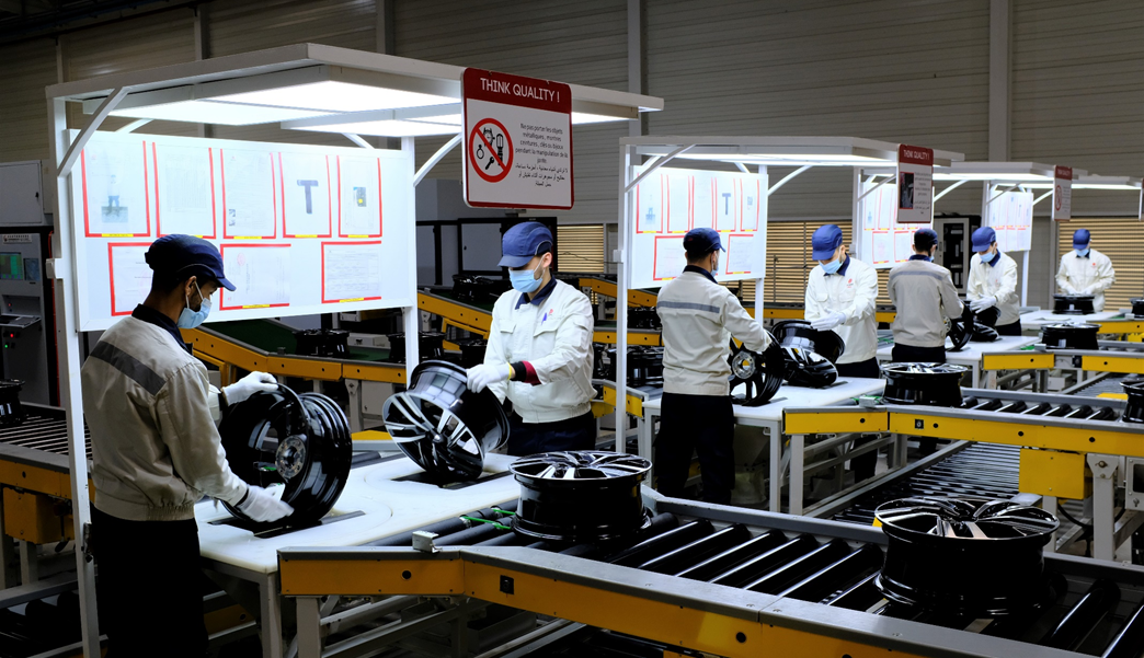 Chinese wheelmaker opens second production line in Morocco