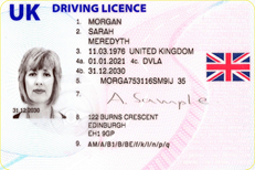 EU flag is removed from new-style UK driving licences and number plates
