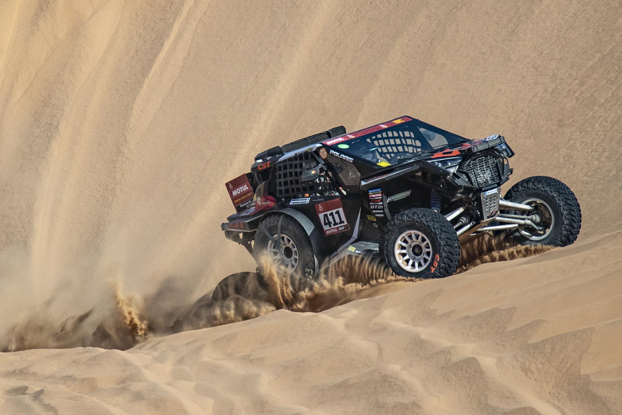 CST Apache supports Xtreme+ team on 2021 Dakar Rally