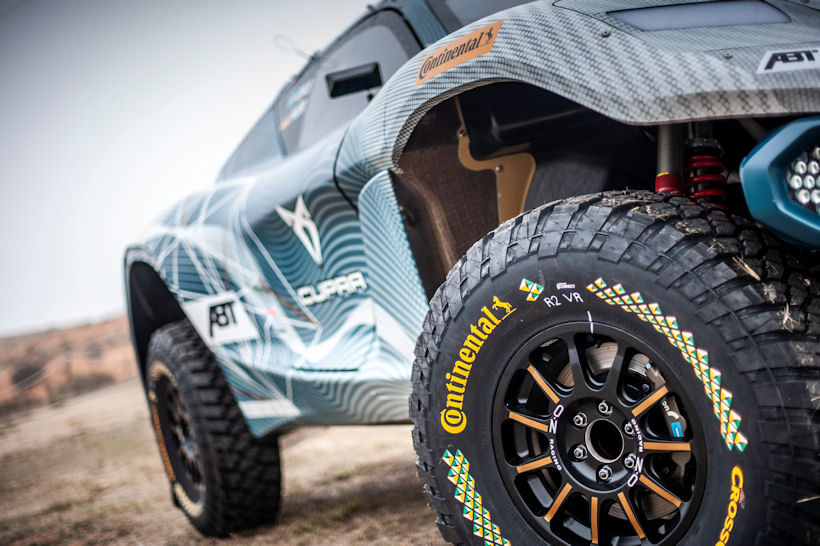 A 'very good compromise' – Continental's Extreme E tyre
