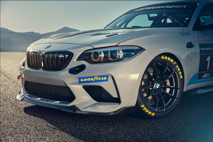 Goodyear tyre supplier to BMW M2 Cup