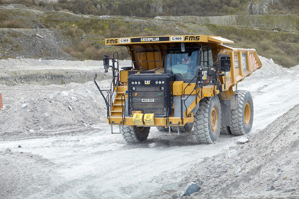 Quarry operator cuts costs, downtime with TyreWatch tyre monitoring solution