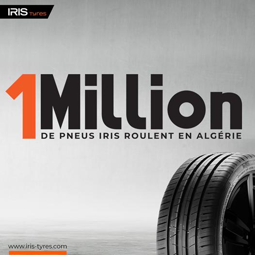 Saterex celebrates 1 million Iris tyres on Algeria's roads