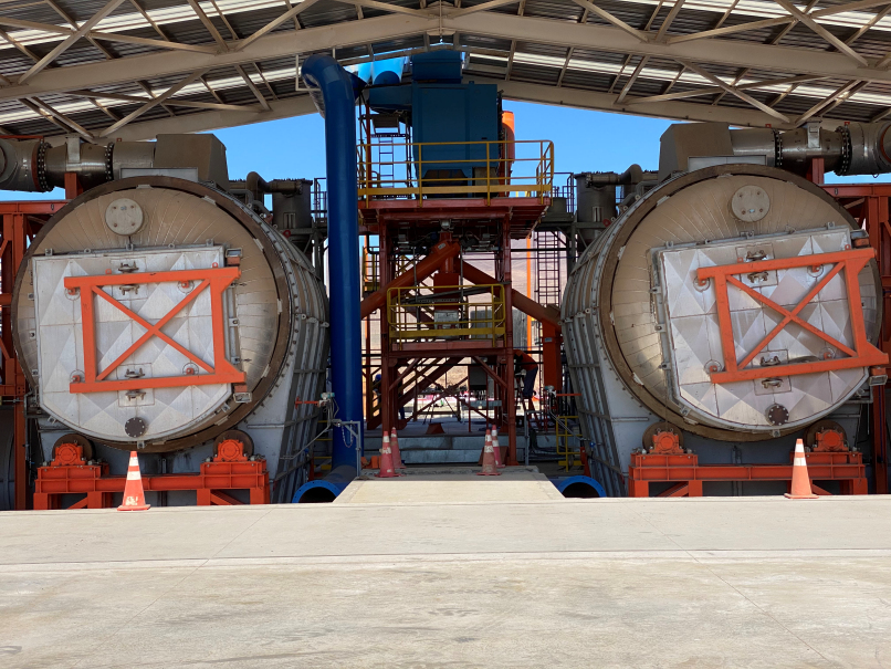 Kal Tire nears full start-up of OTR tyre recycling facility in Chile