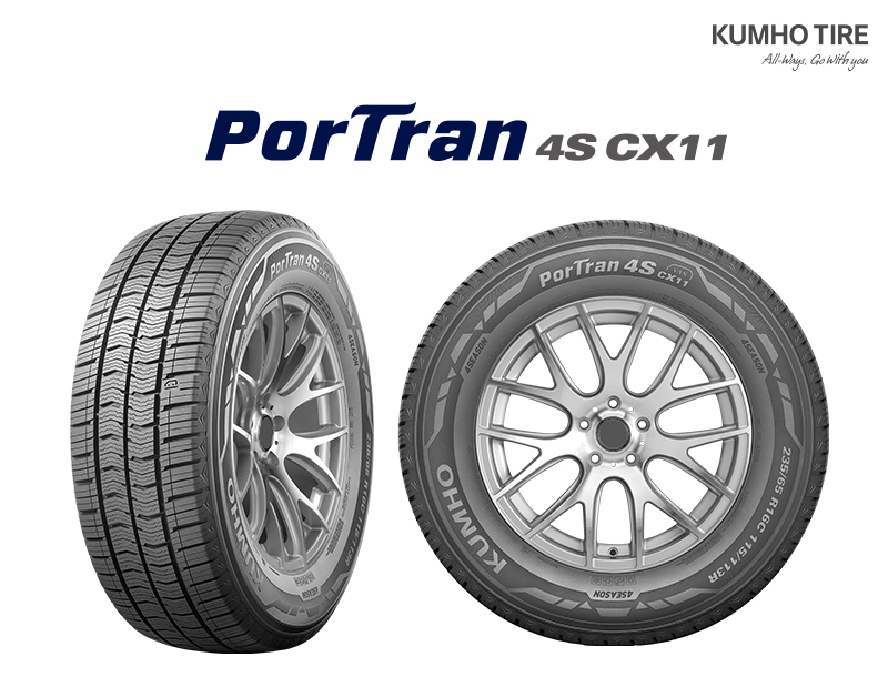 Kumho launches all-season van/LCV tyre range