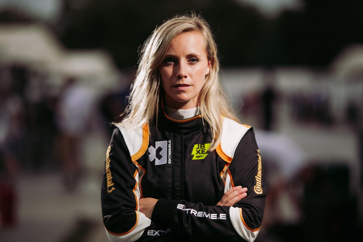 Continental test driver Mikaela Ahlin-Kottulinsky joins Extreme E