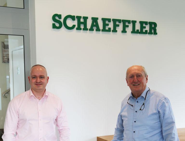 Mark Dolloway succeeds Nigel Morgan as MD of Schaeffler (UK) Ltd