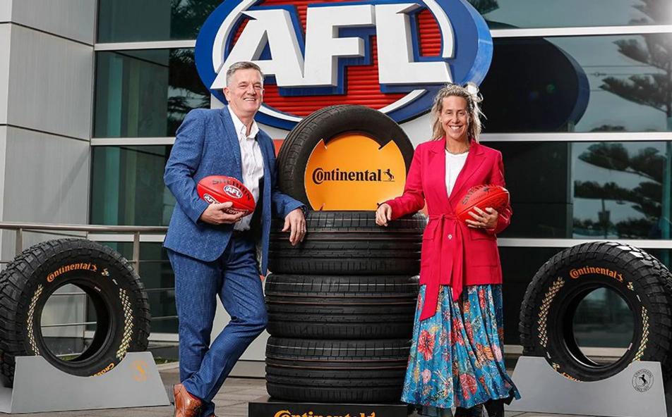 Continental a Major Partner of Australian football
