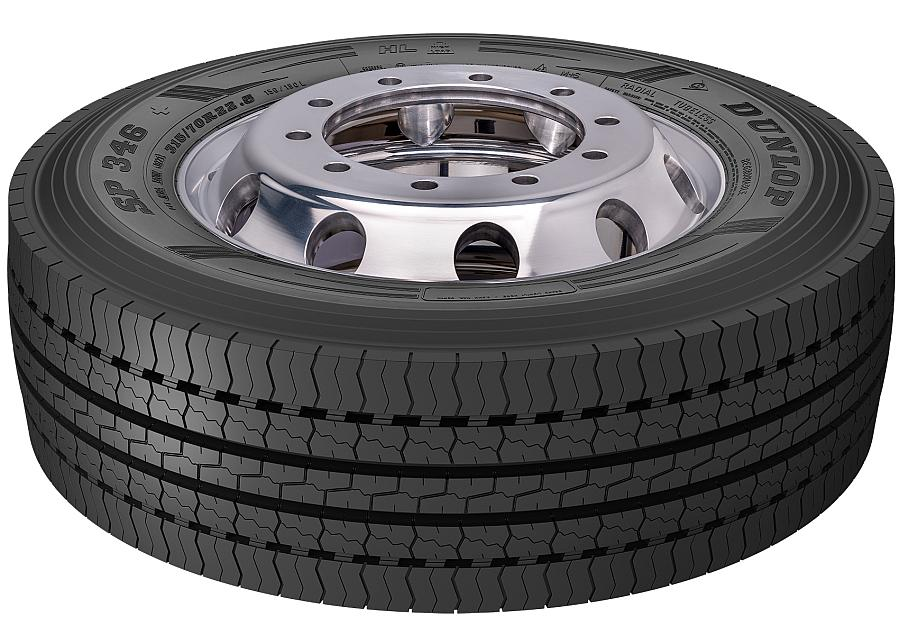 Dunlop SP346+ launched to 'support versatile commercial operations'