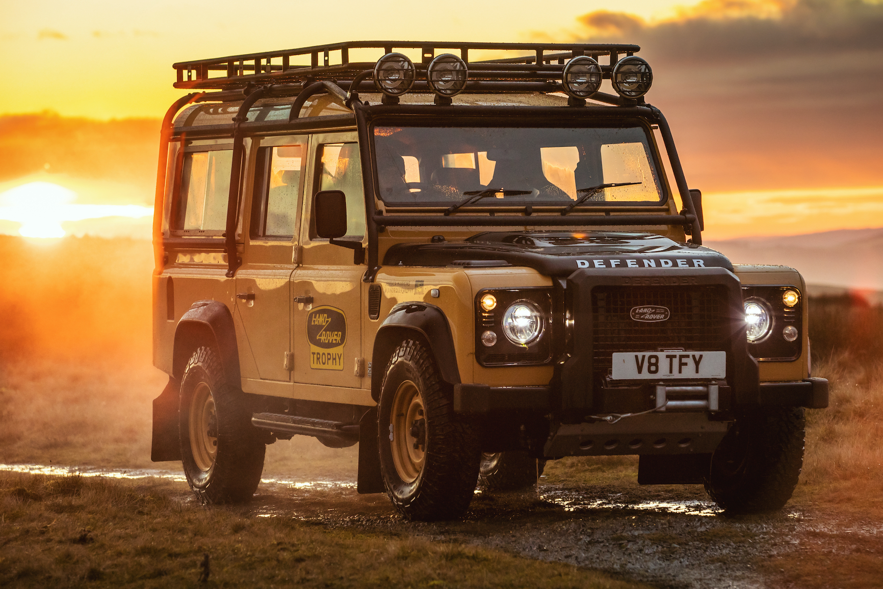 Goodyear OE on classic Land Rover Defender