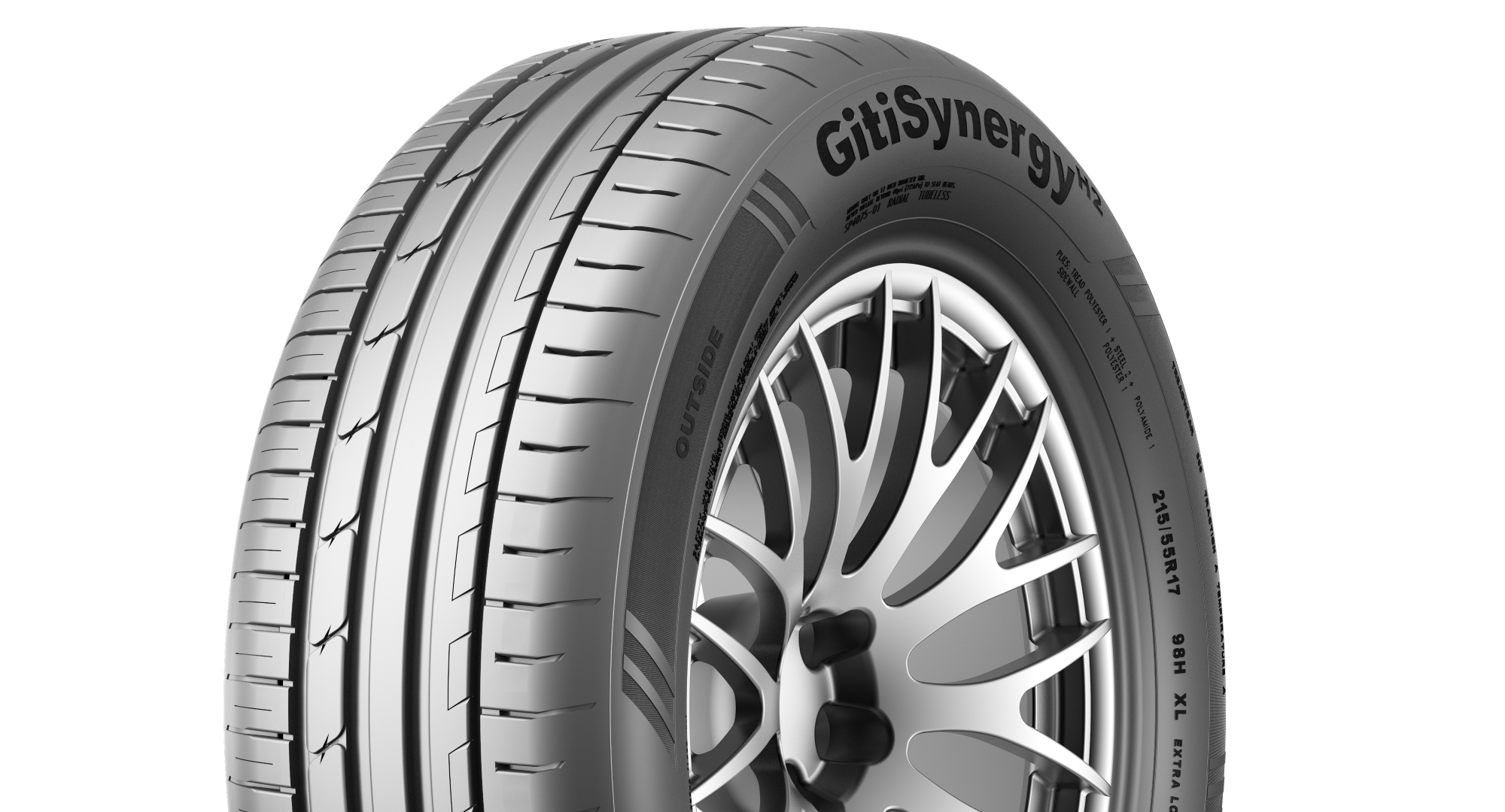 AA-rated GitiSynergyH2 selected in second size for VW Caddy 5 OE fitment