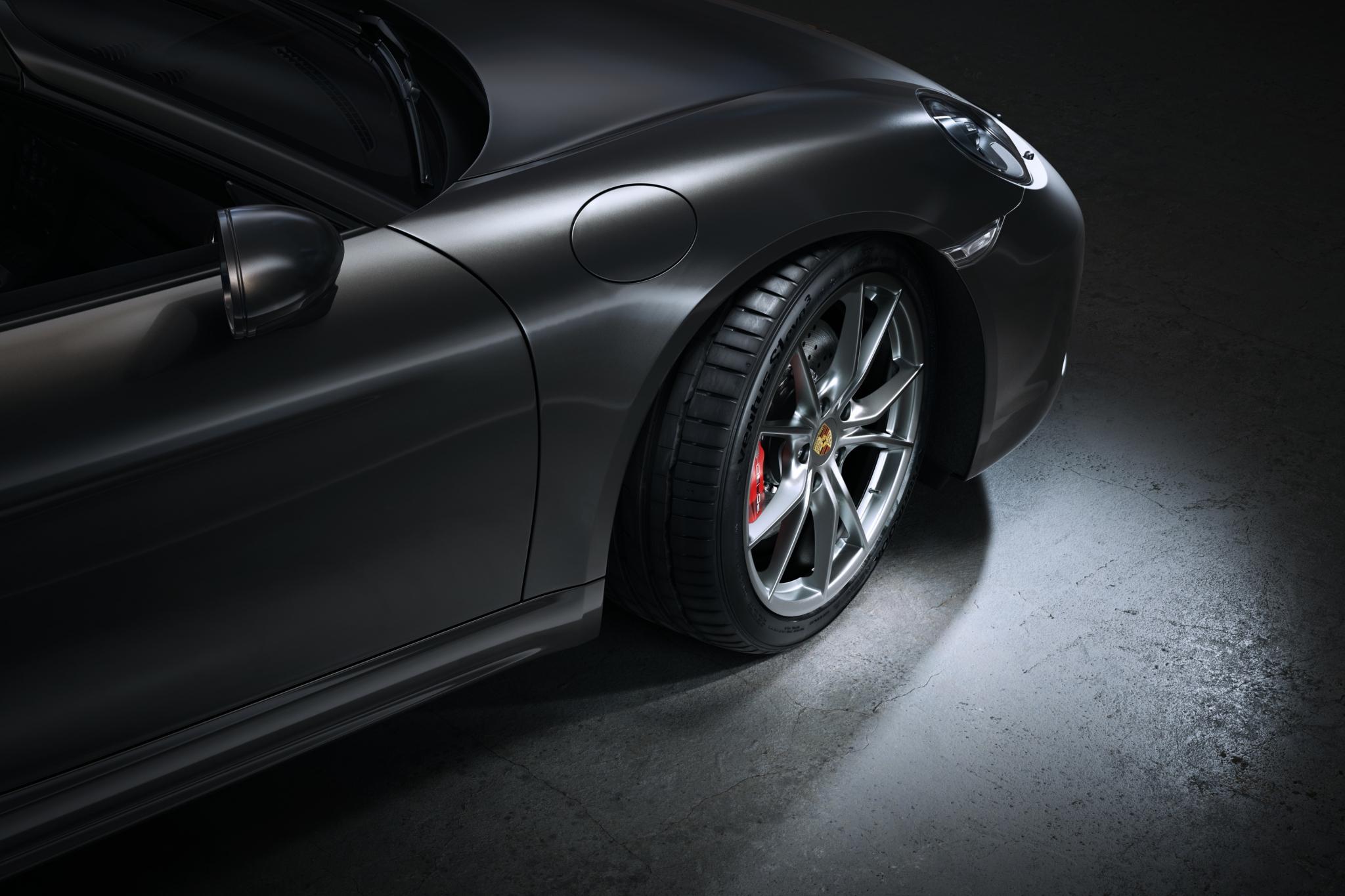 Hankook tyres OE on Porsche 718 models