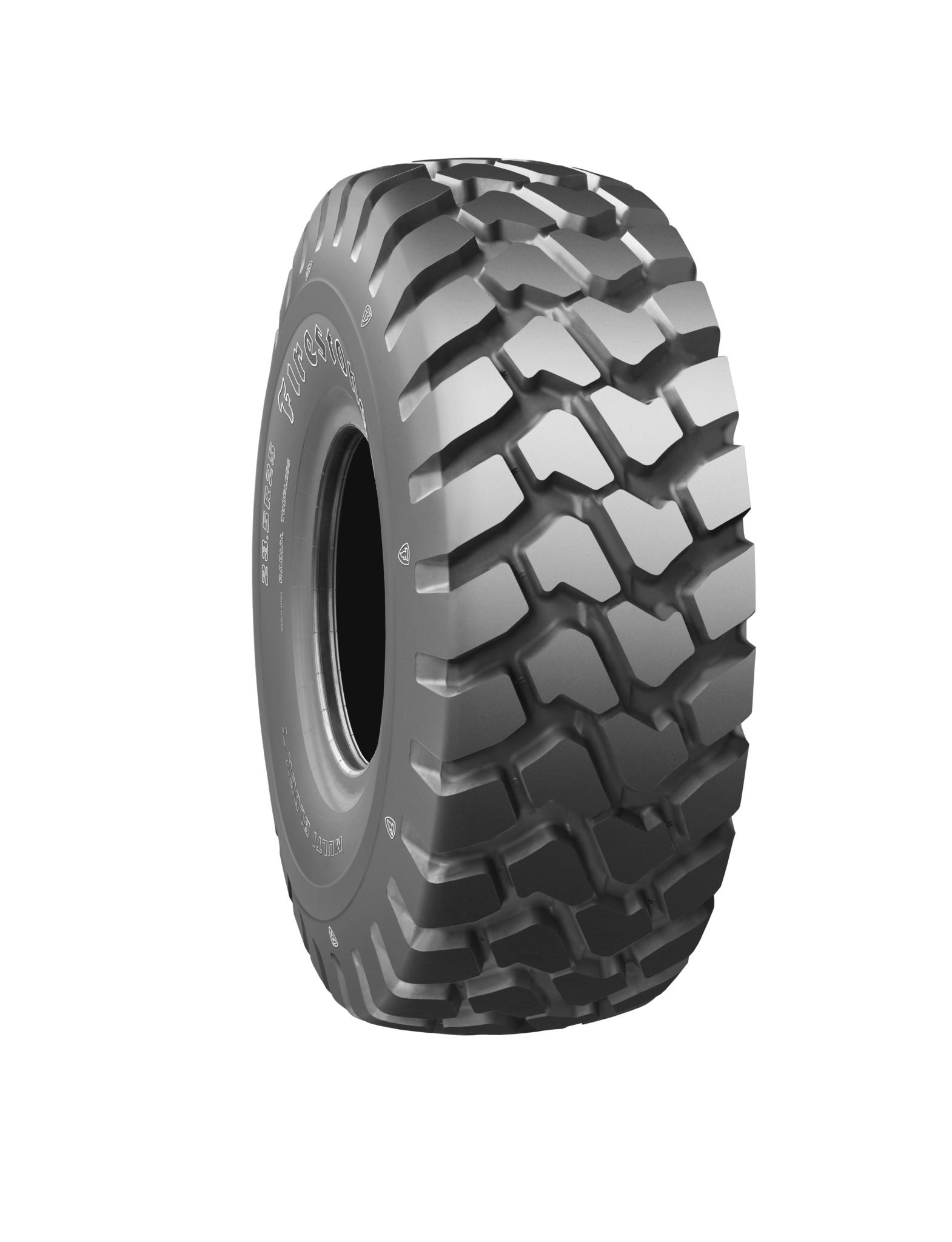 Firestone brand enters European OTR tyre market