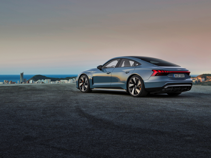 Goodyear tyres for Audi e-tron GT