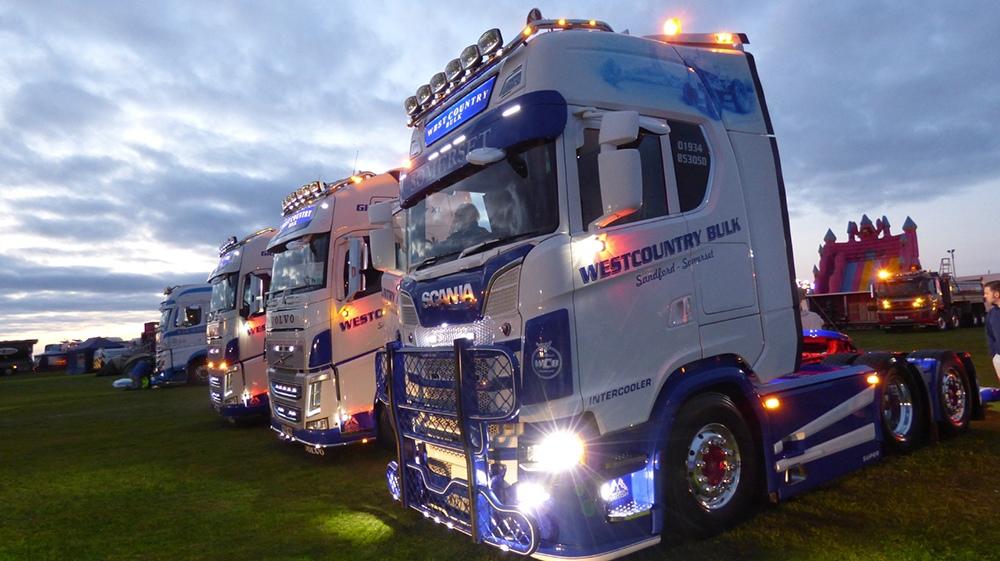 Hankook an official partner to Devon & Cornwall truck shows
