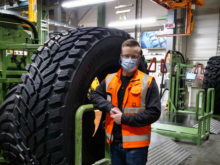 Safety award for Nokian Heavy Tyres
