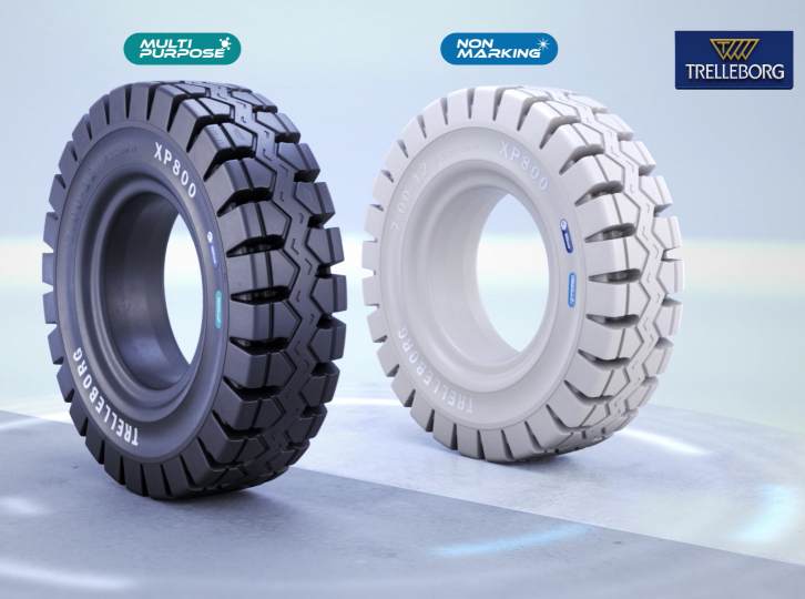 Trelleborg launches XP800 forklift tyre