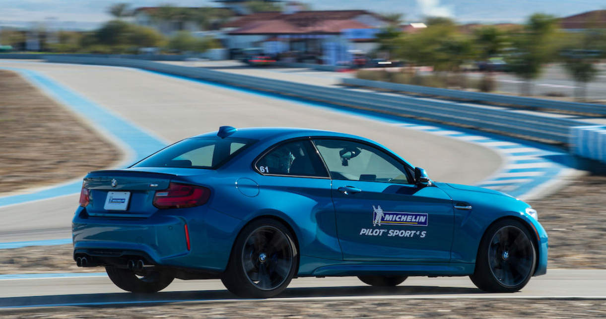 OE debut for Michelin Track Connect on BMW M3, M4