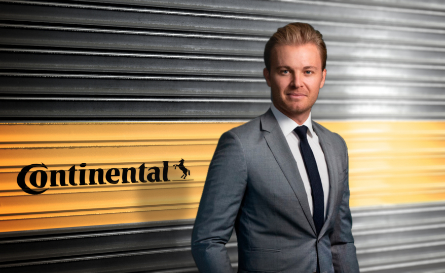 Nico Rosberg: F1 champ, sustainability entrepreneur, Continental brand manager