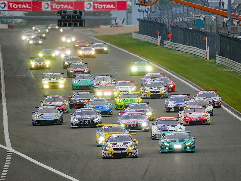 All-Michelin podium at abridged 24-hour Nürburgring race