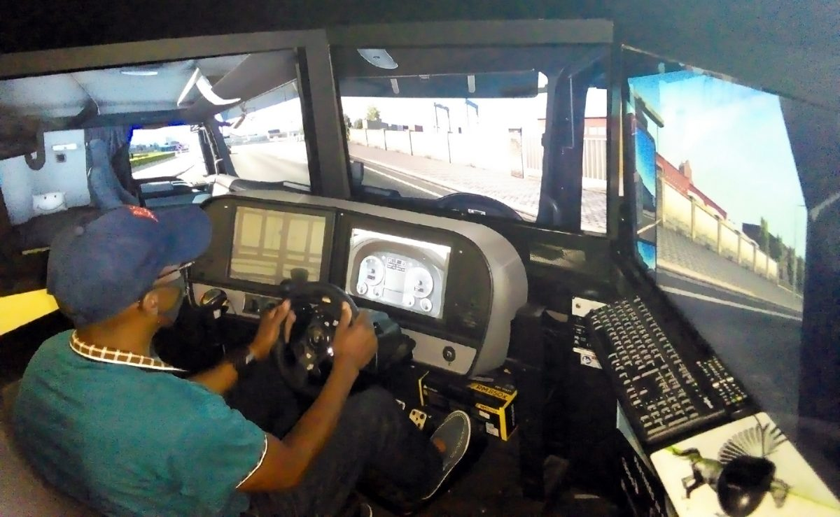 Industry works together on Zambian driver simulator